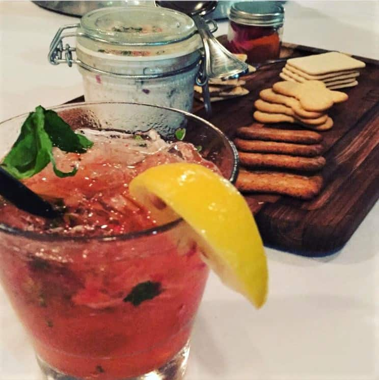 Mizner's Dream cocktail and appetizer cruise